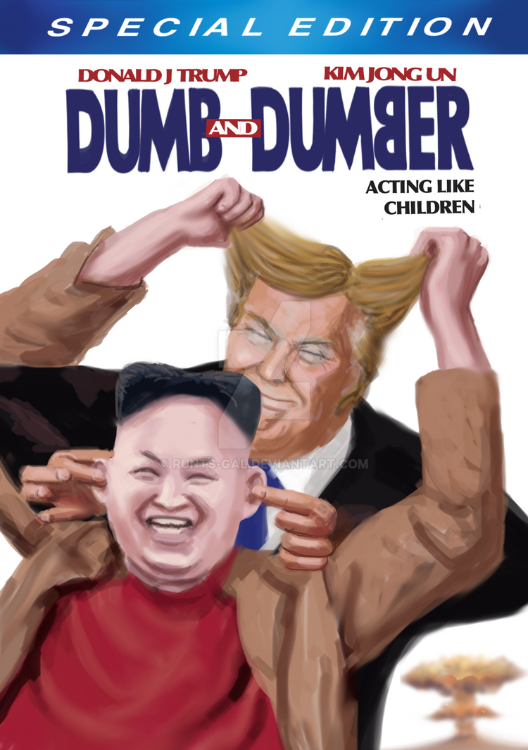 Dumb and Dumber by runts-gal