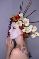 The Geisha 01 by Fuchsfee-Stock