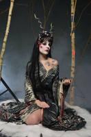 Black Geisha 01 by Fuchsfee-Stock