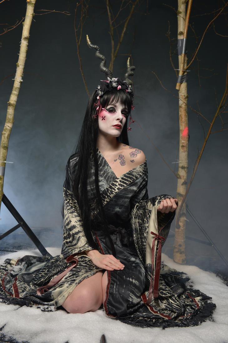 Black Geisha 01 by KittyTheCat-Stock