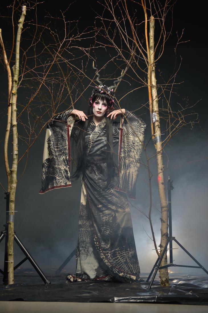 Black Geisha 06 by KittyTheCat-Stock