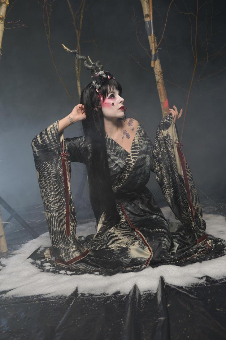 Black Geisha 08 by KittyTheCat-Stock