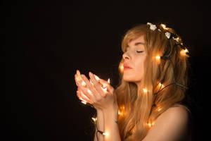 Girl in light #01 by Fuchsfee-Stock