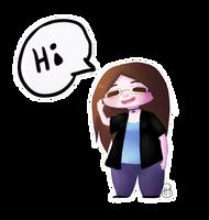 [ Me ] Doodle Hi by Dreamsverse