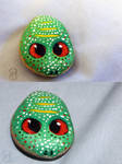 [ Painted Rocks ] Frog, but not really