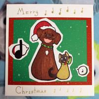 [ Christmas Stuffs ] Borf and Meyu by Dreamsverse