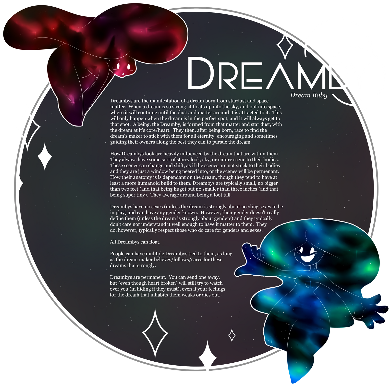 [ Info ] Dreamby Species Info by Dreamsverse