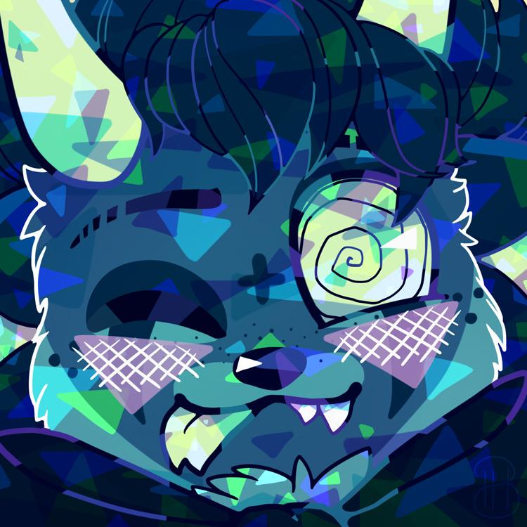 [ Commission ] SickSadWolf 1A by Dreamsverse