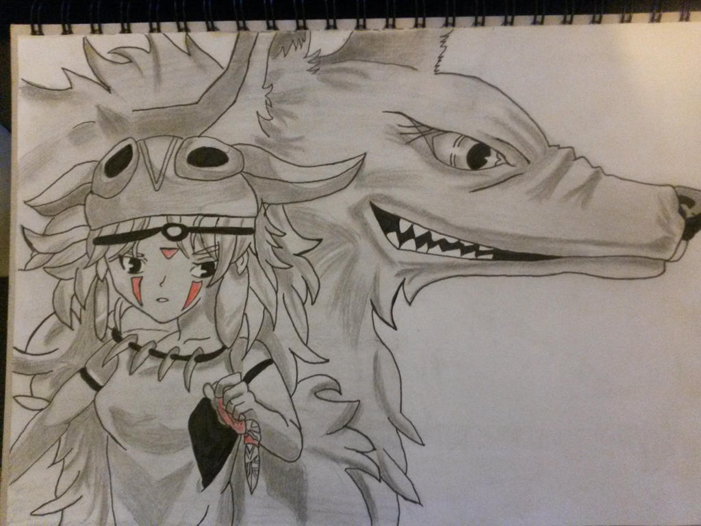 Princess Mononoke by SicaChii