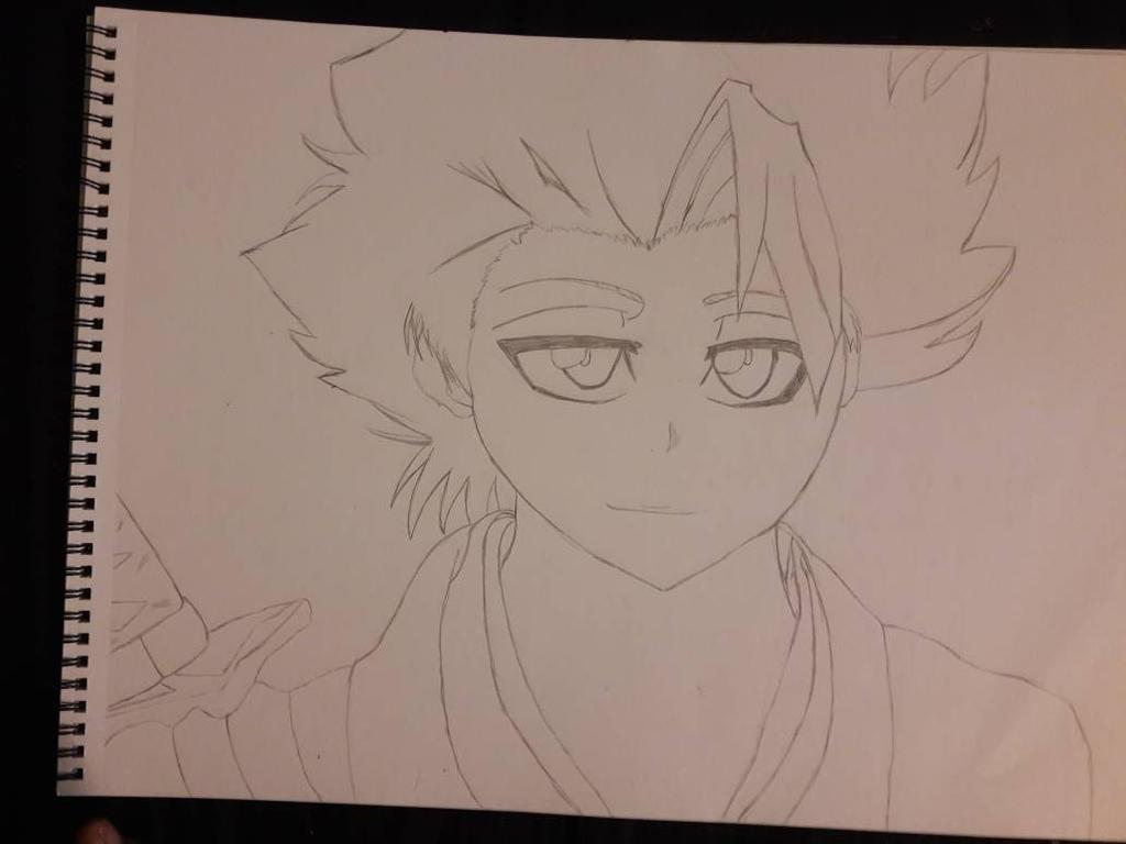 Toshiro Histugaya sketch by SicaChii
