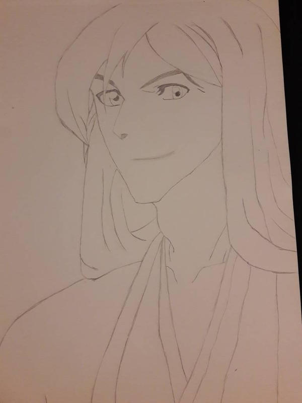 Juushiro Ukitake sketch by SicaChii