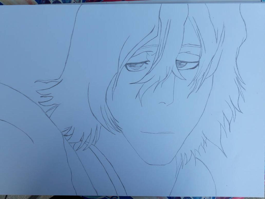 Taichou Kisuke Urahara sketch by SicaChii