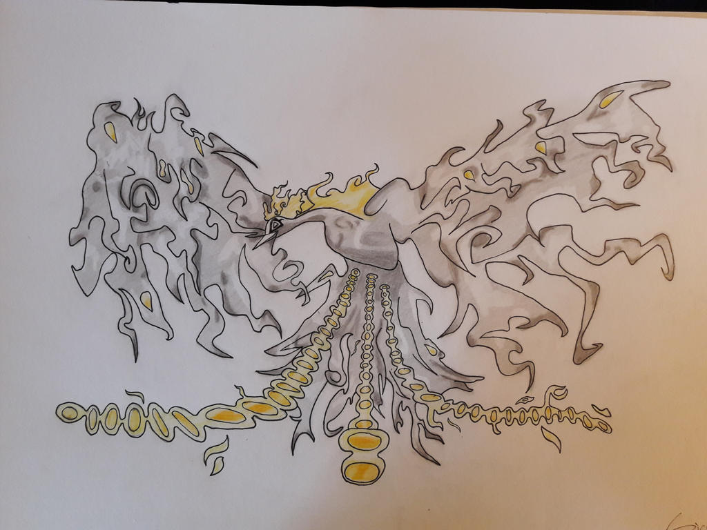 Marco the Phoenix zoan form finished by SicaChii