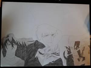 Ichigo Kurosaki Hollow/Quincy form