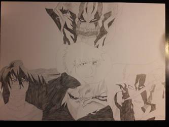 Ichigo Kurosaki forth Hollow form  by SicaChii