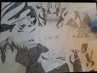 Ichigo Kurosaki Fullbring: collection complete  by SicaChii