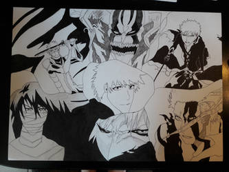 Ichigo Kurosaki collection complete: Outlines  by SicaChii