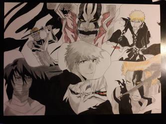 Ichigo Kurosaki collection complete: finished by SicaChii