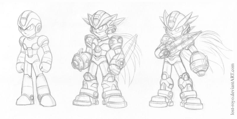 megaman fusion x-z