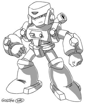 [Megaman FanProject] Crushman -work in progress-