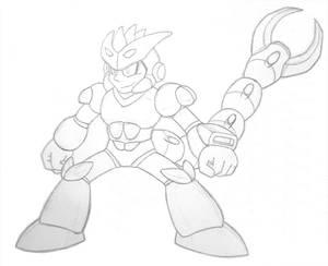 [sketch] Megaman FanProject - Pinchman