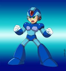Megaman X -ready to fight-
