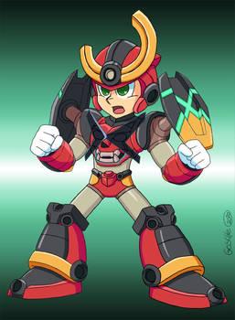 MegamanX -GurrenLagann style Armor