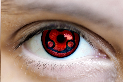 Real Sharingan Eye Contacts Real sharingan eye by