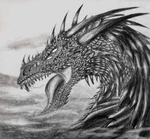 dragon of the mist by Clone-Trooper