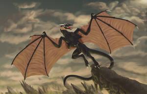 Dragons flight by Clone-Trooper