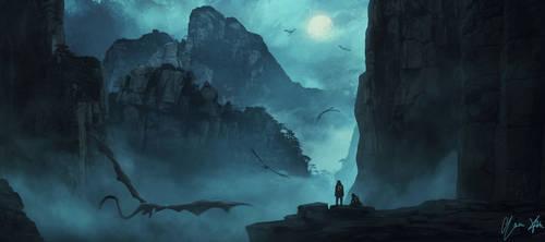 Moonlight Dragons' Dance