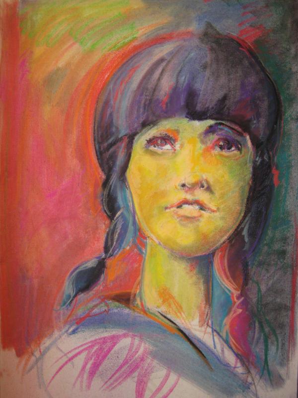 Chalk Pastel by Turpandoil