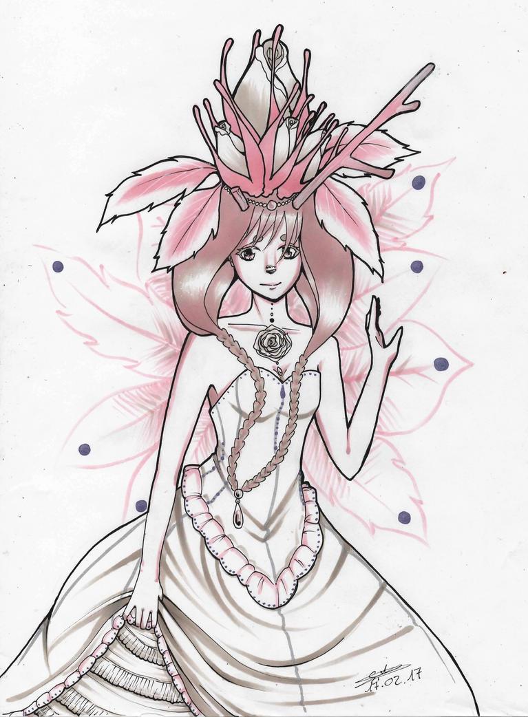 Blooming Goddess by littlepoligati