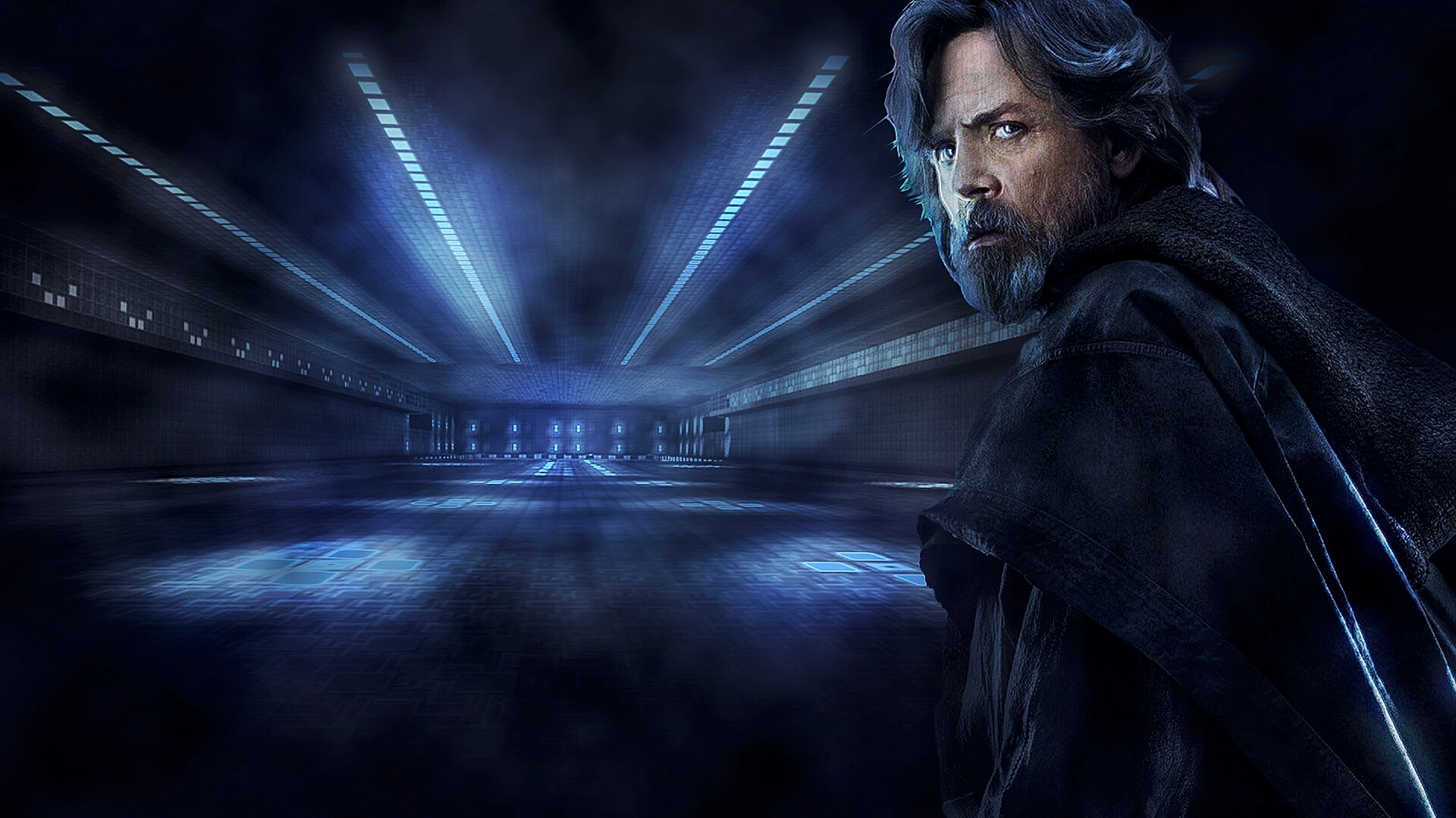 Wallpaper Luke Skywalker Star Wars By Wribeiro On Deviantart