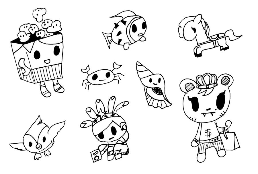 Tokidoki Donutella Coloring Pages HD Wallpapers – Home design