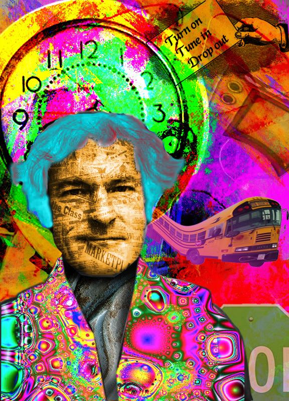 Timothy Leary by getonthebus