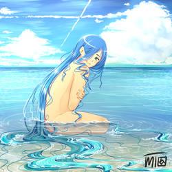 Blue by mewTalina