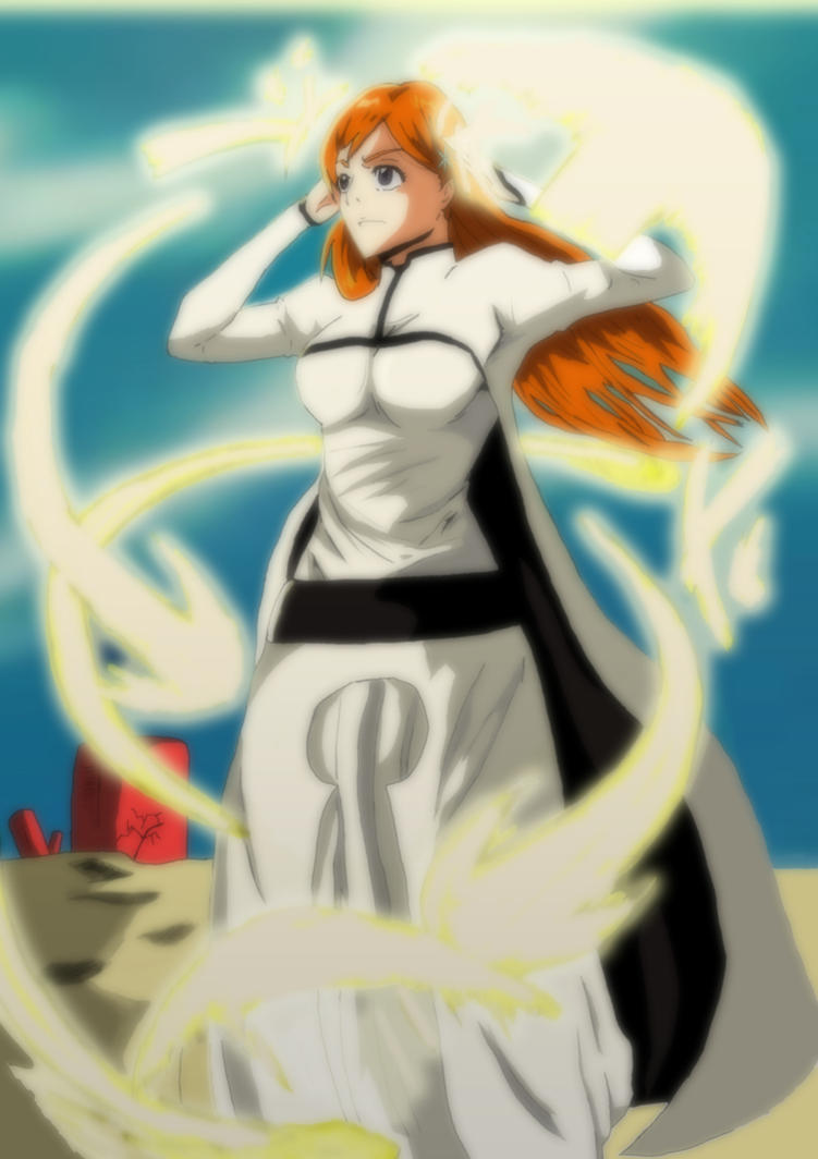 bleach orihime by greengiant2012
