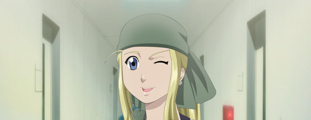 FMA winry rockbell (FULL ON TUMBLR) by greengiant2012