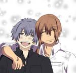 Shunsuke and Kumagami