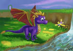 FANART- Spyro year of the dragon