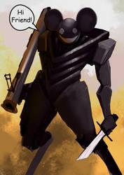 deadmau5 - fanart by TheTrooper