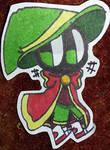 Wizard Marvin sticker