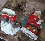 oh my God someone killed Santa