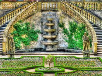 Fortress Marienberg - Castle Garden 1 by antragonDE