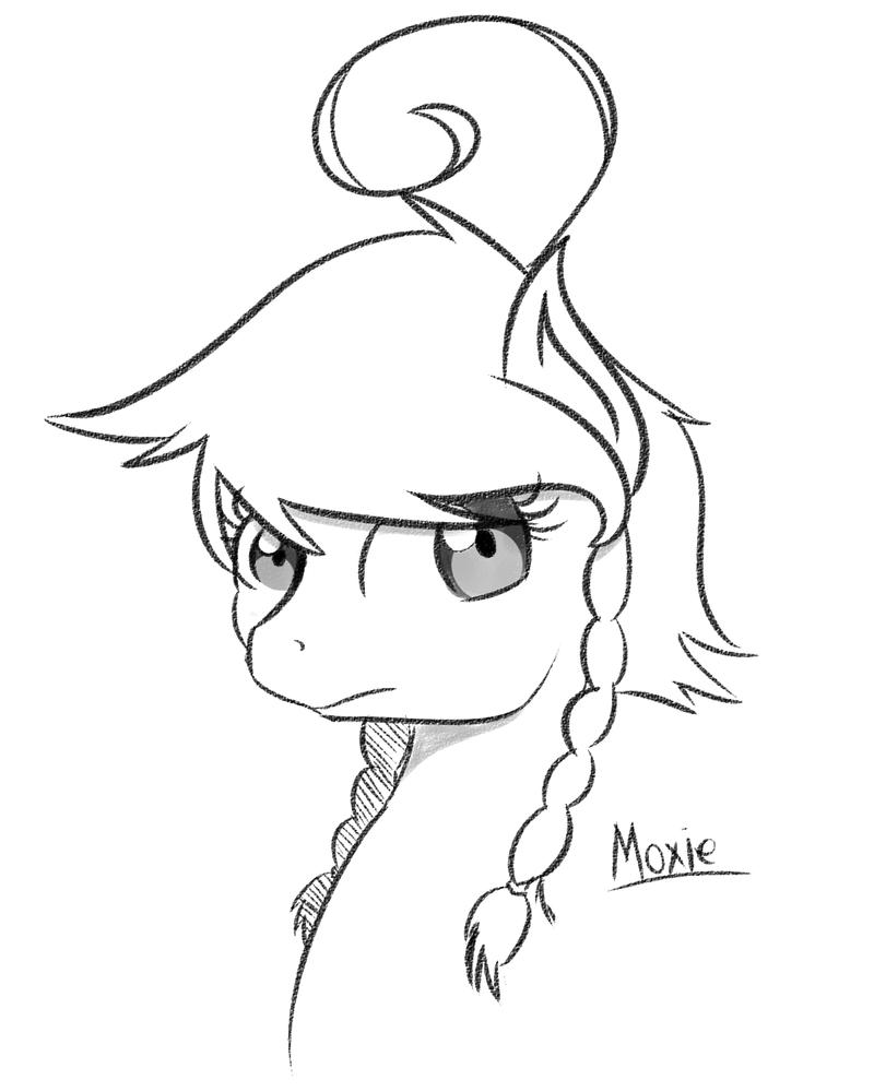 Sketch - Moxie by Spitfire-Fan