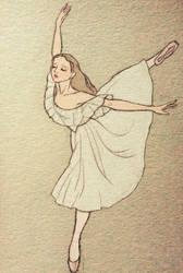The ballerina by LavenderStuff