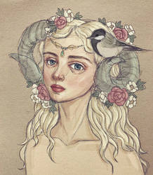 Capricorn Goddess by LavenderStuff