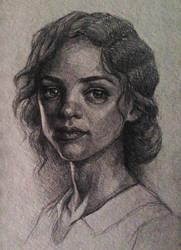Pencil practice by LavenderStuff