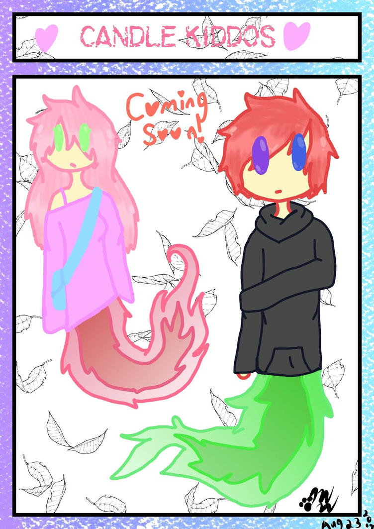 Candle Kiddos! New species coming soon! by ShadowWolf30303